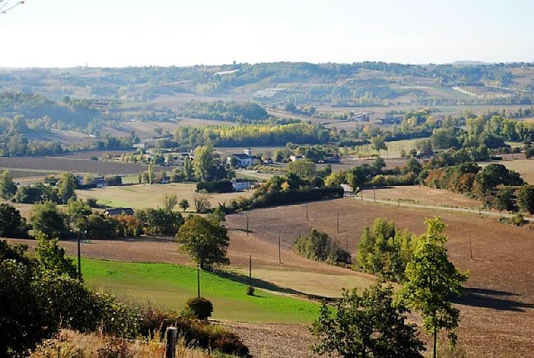 Miramont-de-Quercy paysage